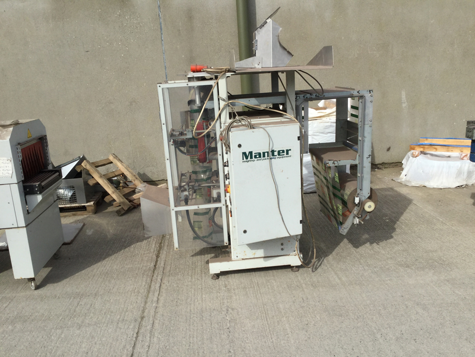 Manter Vertical Form Machine Bagger