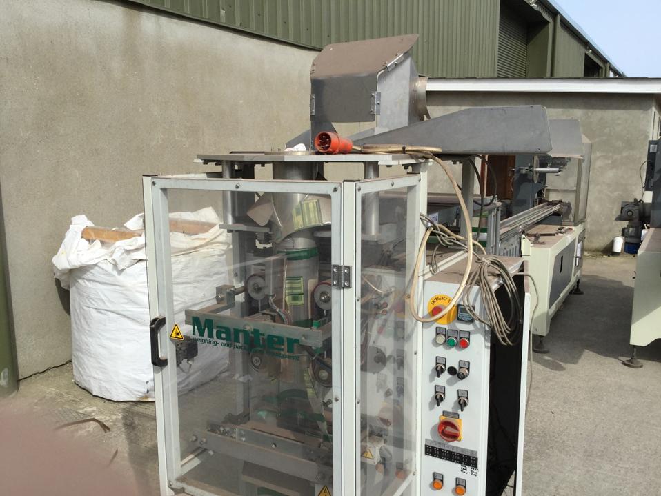 Manter Vertical Form Machine Bagger